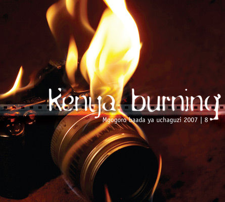 Kenya Burning book cover